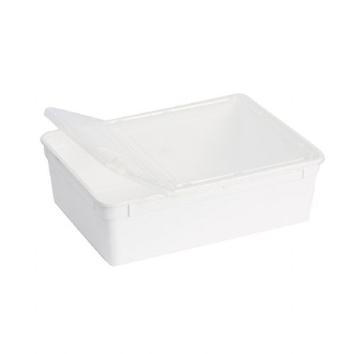BraPlast Box 3.0L White + Lid BP-30W